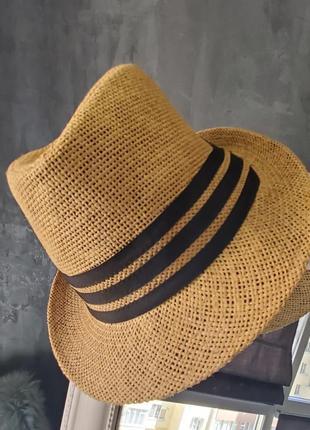 Соломенная стильная шляпа 👒!