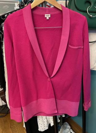 Ярко розовый пиджак kenzo