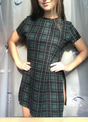 Платье/туника с розрезами zara