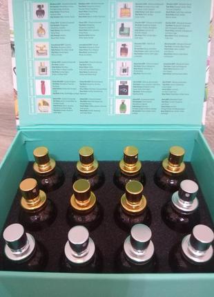 Набор парфюмов мини по 25 мл мужские+женские фармаси farmasi
