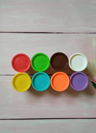 Play doh  8 кольорів