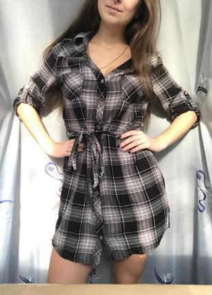 Платье/рубашка h&m