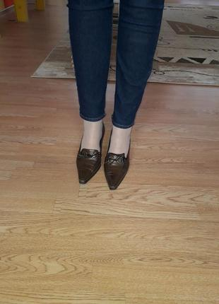 Шок цена/изысканные миниатюрные туфельки/нат.кожа|99грн+подарок