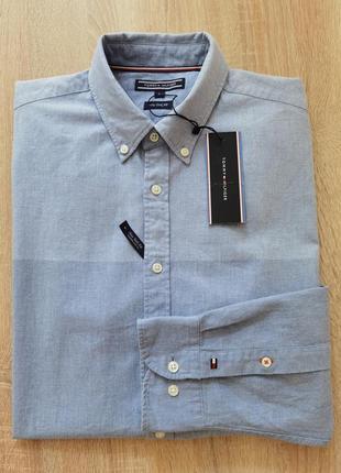 Рубашка на длинный рукав tommy hilfiger l/48