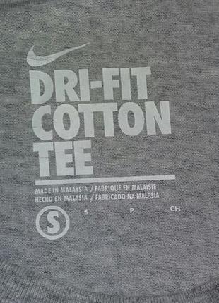 Оригінальна футболка nike dri-fit cotton tee