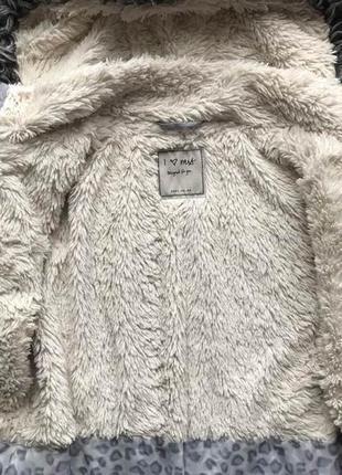 Демисезонная куртка парка на девочку фирмы i love next на возраст 7-8 лет2