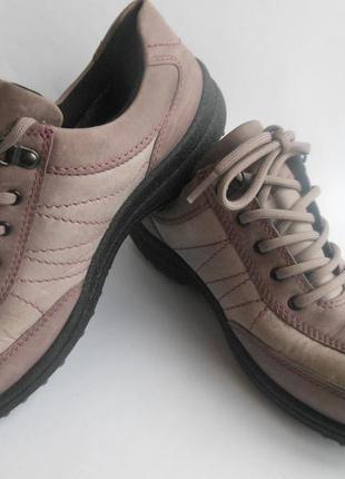 Кожаные ботинки hotter gore-tex оригинал.
