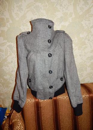Denim co куртка весенняя модная стильная р 14 идет на р 12