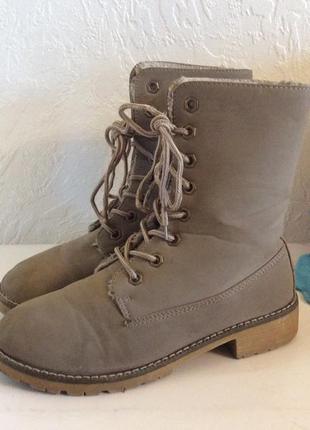 Ботинки зимние  queen tina р.38