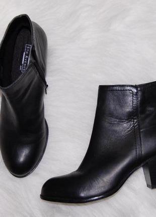 Ботинки кожа кожаные 38 р-р черные
