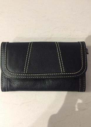 Кожаный кошелёк, портмоне marks & spencer