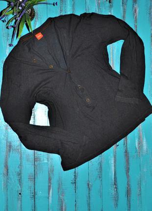 👗💃шикарная темно-серая кофта, пуловер hugo boss. оригинал! 46-48 размер