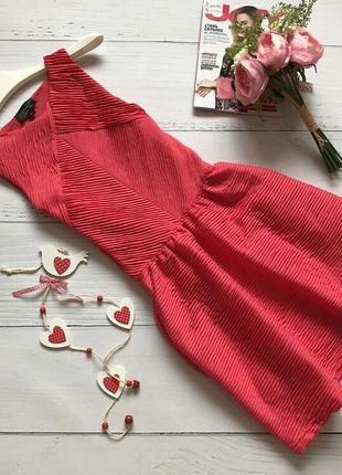 Шикарное платье с заниженной талией topshop