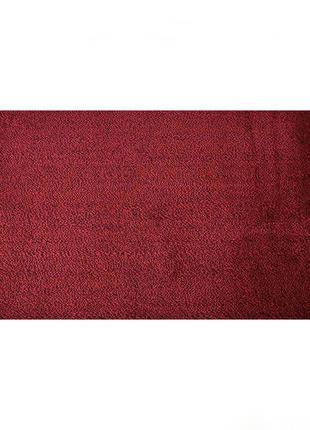 Коврик придверный a-plus 40 х 60 см (2068) красный + черный не скользит на полу