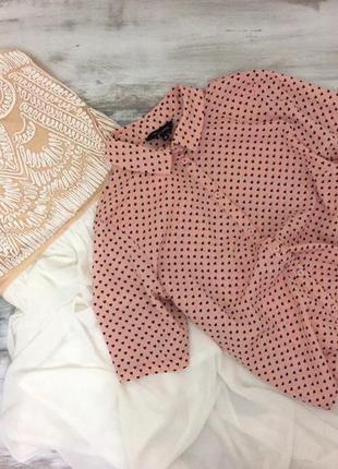 Милая блуза в сердечки