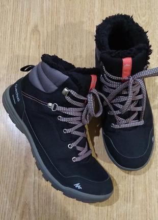 Теплые кроссовки quechua waterproof зимние