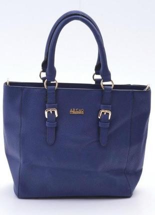 Sale зручна містка жіноча синя сумка