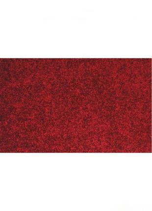 Коврик придверный a-plus 40 х 60 см (2068) бордовый не скользит на полу