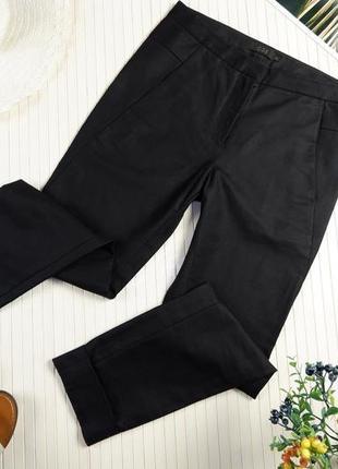 Брюки cos новые черные чиносы штаны зауженные классика плотные uniqlo xs