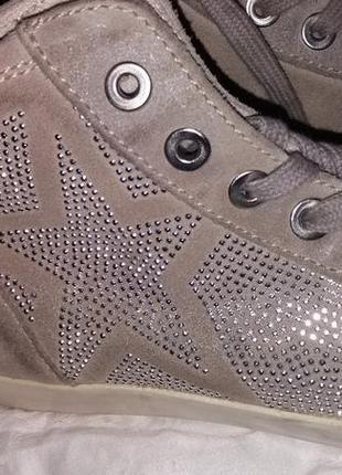 Качественные замшевые кросовки tamaris 39-40