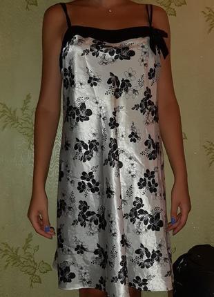 Пеньюар ночнушка ночное платье пижама комбинация