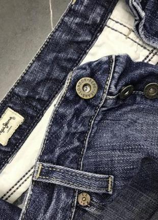 Джинсовые шорты pepe jeans london