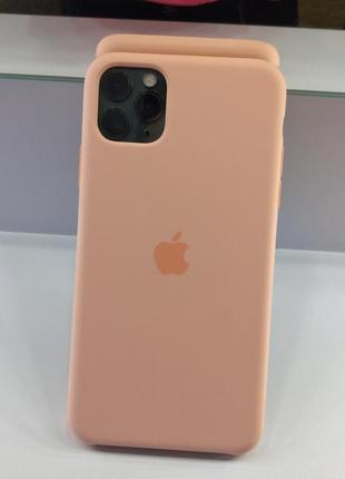 Чехол на iphone 11 pro max новый, silicone glasses