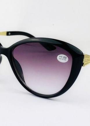 Оптика очки тонированные для зрения 🐈 кошечки