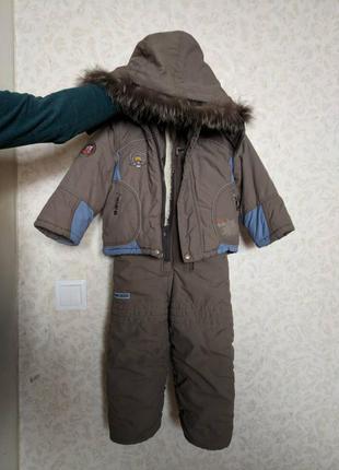 Зимний комбинезон для мальчика 98 / 104 размер