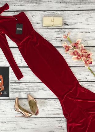 Вечернее платье-русалка missguided   dr47140