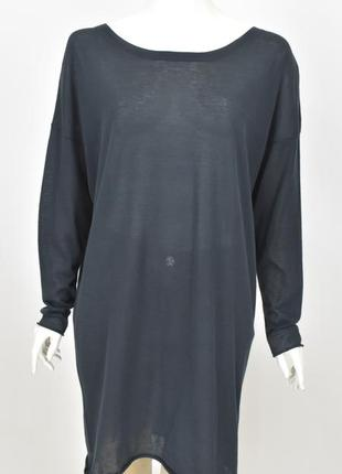 Acne jeans платье размер м синяя туника легкая ткань