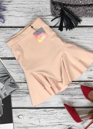 Модная неопреновая юбка missguided   ki47156