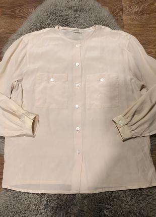 Шелковая рубашка akris