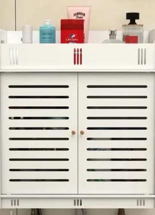Шкафчик навесной белый