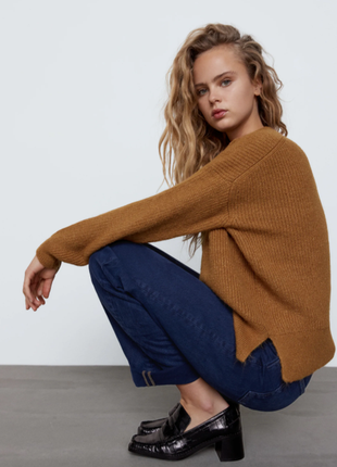 Zara мягкий свитер