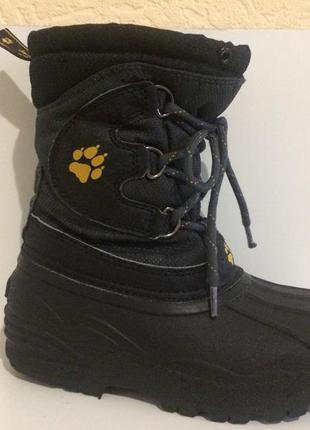 Ботинки сноубутсы  jack wolfskin