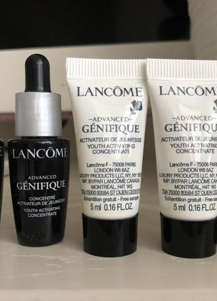 Сыворотка-активатор молодости кожи lancome advanced genifique youth activating concentrate