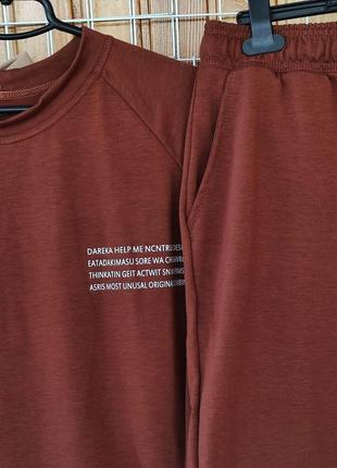 Женский костюм футболка шорты больших размеров