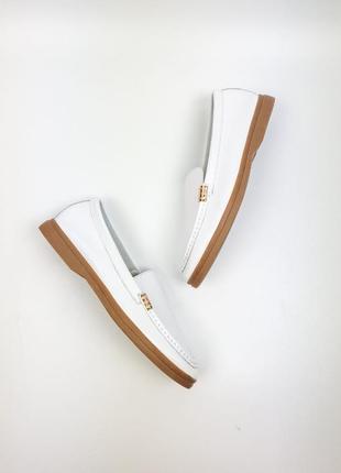 Балетки лоферы туфли