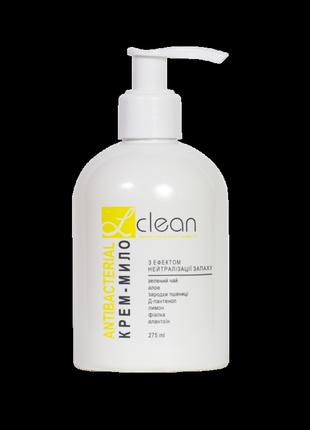 """Крем-мило з ефектом нейтралізації запаху """"антибактеріальне"""" серії l'clean, 275 мл"""