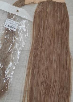 Хвост, шиньон, волосы искусственные,27/613.