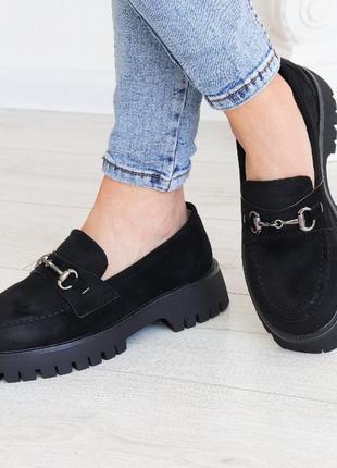 Броги 3140 туфли на низком ходу брогі туфлі