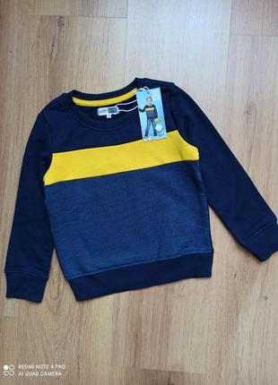 Свитшот, свитер poco piano германия 104, 110 рост