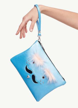 Клатч stradivarius усы - женская сумочка - кошелек, сумочки женские