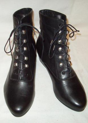 Ботинки * 3 sissen collection * еврокачество. кожа. р.38 (ст.25 см). оpигинал.