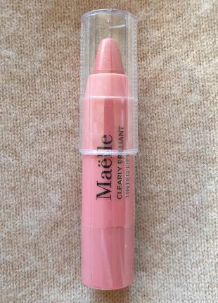 Увлажняющий крайон для губ maelle, нюдово-розовый