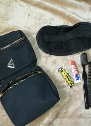 Дорожный набор, зубная паста и щётка