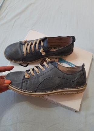 Кожаные мокасины кросовки atxa