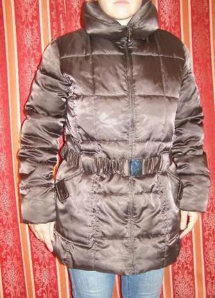 Зимнее женское пальто/плащ, apt9, 100%полиестер