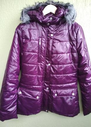 Зимняя курточка пуховик парка